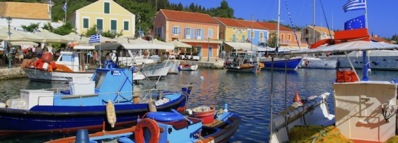 Fiscardo Fishing Boats